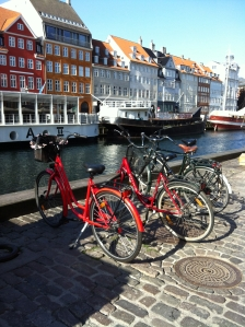 Bikes on Nyhavn