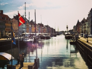 Nyhavn in the sun