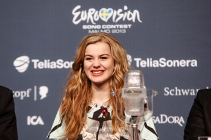 Emmilie de Forest, Eurovision winner 2013 (Photo: Thamas Hanses, EBU)