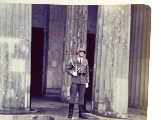 My father's photo of the Neue Wachte near the Brandenburg Gate, 1970.