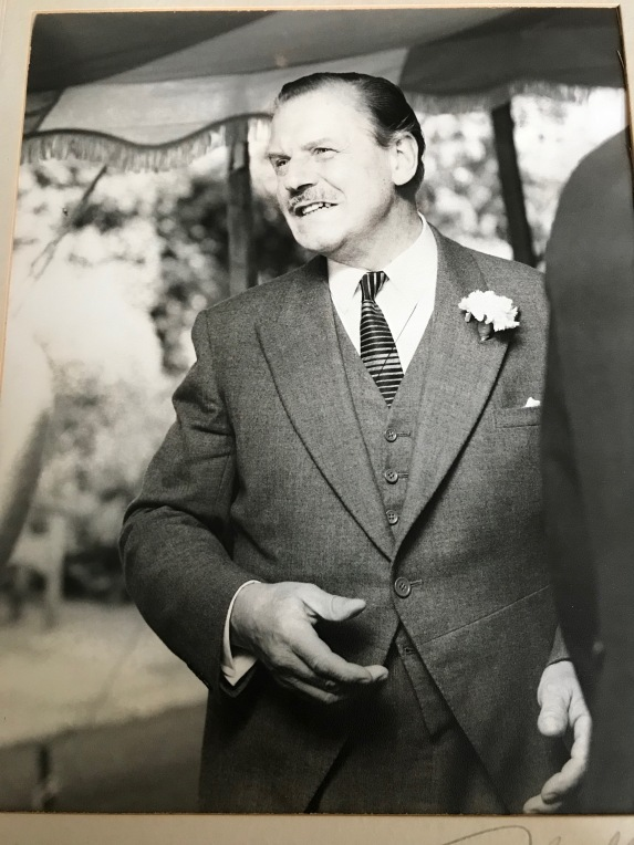 Grandpa at wedding